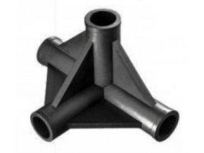 HOMEBOX - Plastová spojka se čtyřmi vývody 22mm