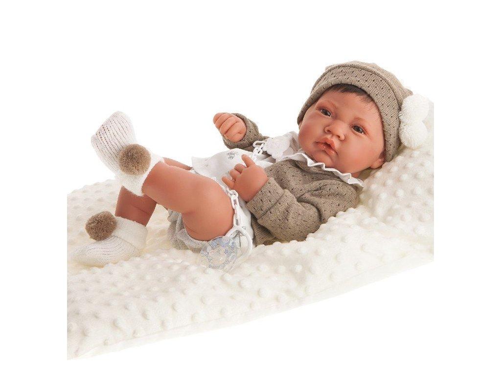 171 realisticke babatko recien nacio cojin chlapec antonio juan 42 cm