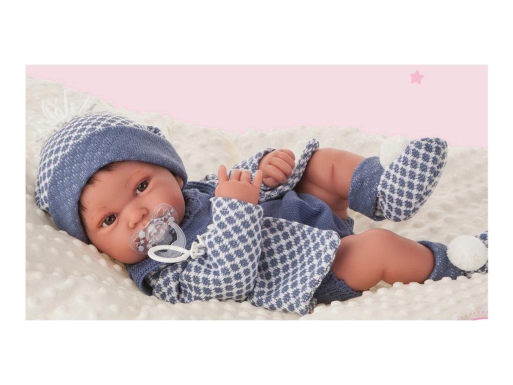 263 3 realisticke babatko recien nacido pipo chlapec antonio juan 42 cm