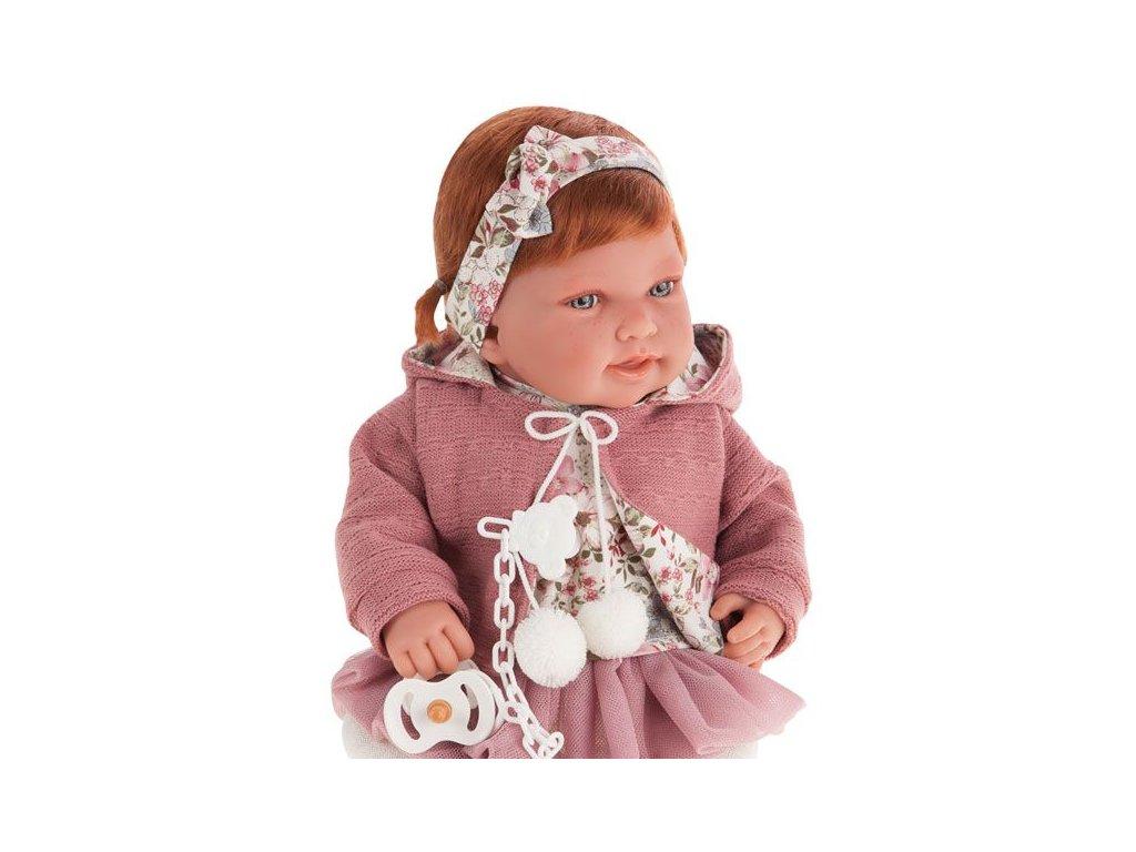 Realistické bábätko dievčatko Pipa Paseo od Antonio Juan 42 cm