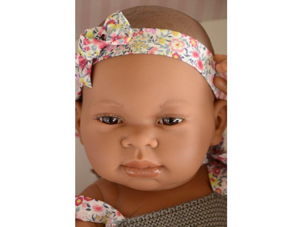 Realistické miminko - Mulatka od firmy Antonio Juan