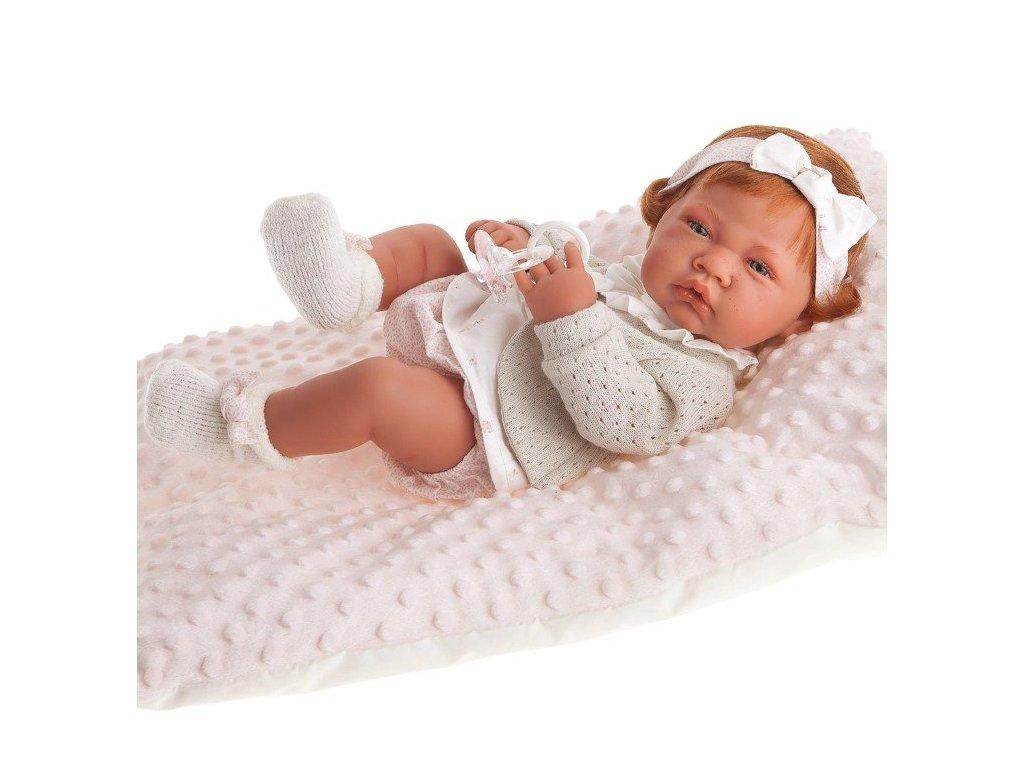 realistické bábätko bábika ryšavé dievčatko od Antonio Juan 42 cm www.realisticka babika.eu Darcek pre divcatko 1