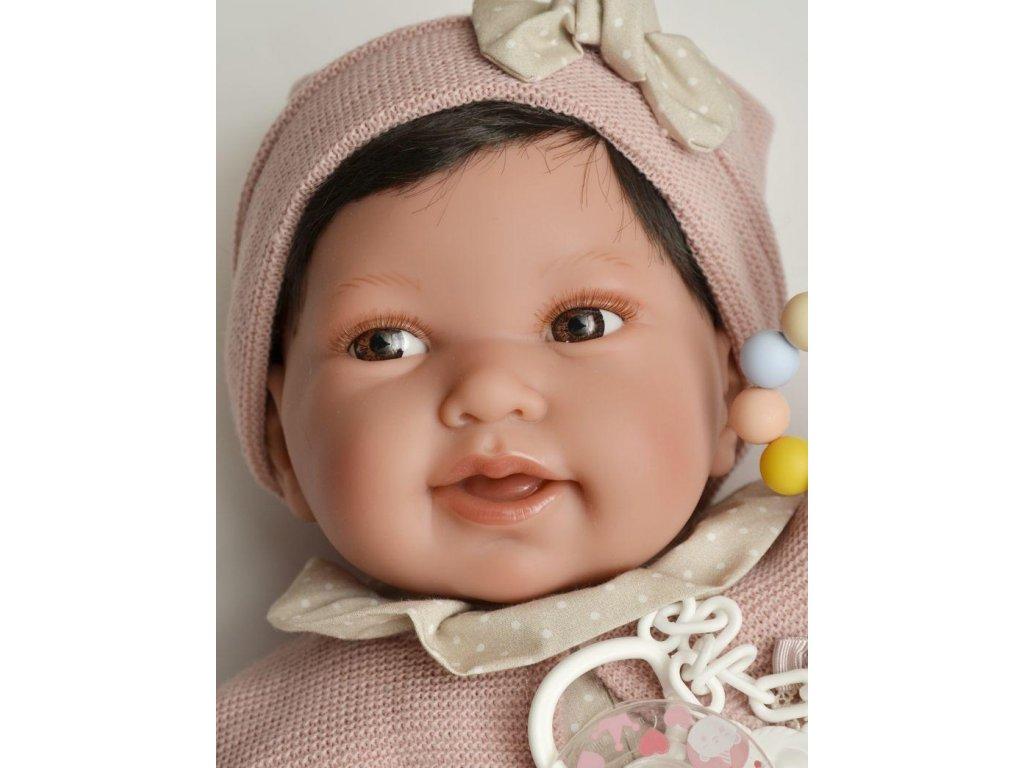 Realistické bábätko - dievčatko od Antonio Juan 40cm