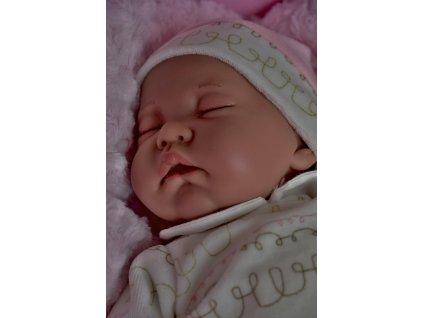 Realistické bábätko Luna Cojín - 40 cm