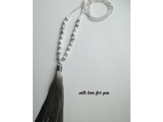 náhrdelník se střapcem