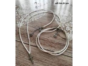 miyuki náhrdelník a náramek