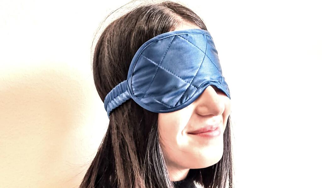 Foto návod: maska na spaní