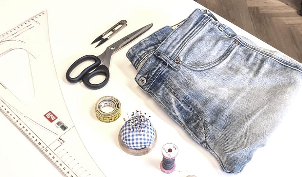 Video návod: zkrácení džínů