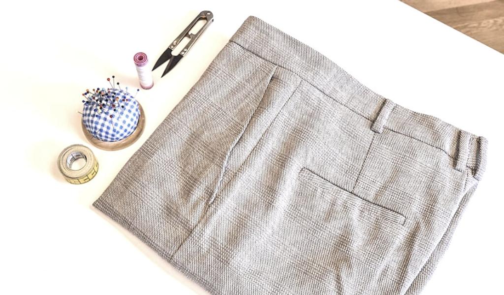 Video návod: Zkrácení kalhot bez šicího stroje