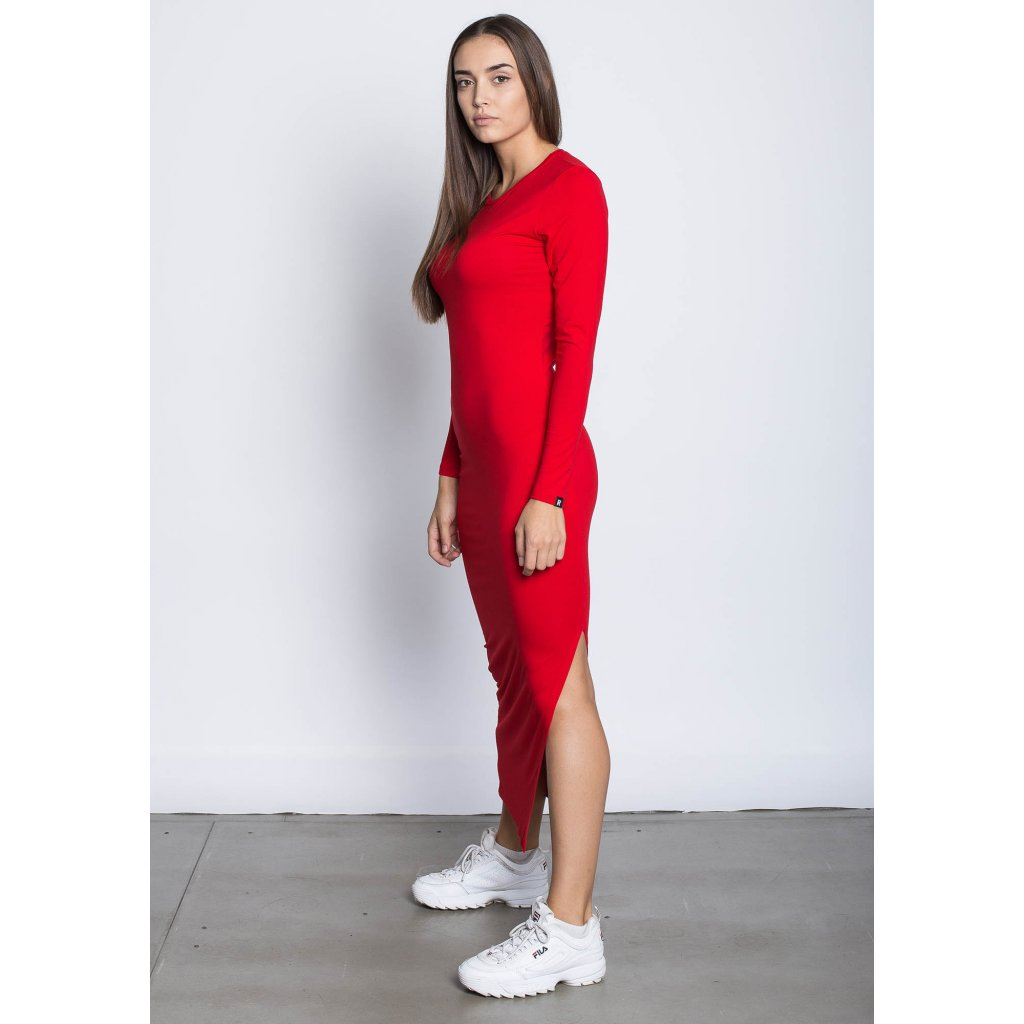 rbln long dress red 1