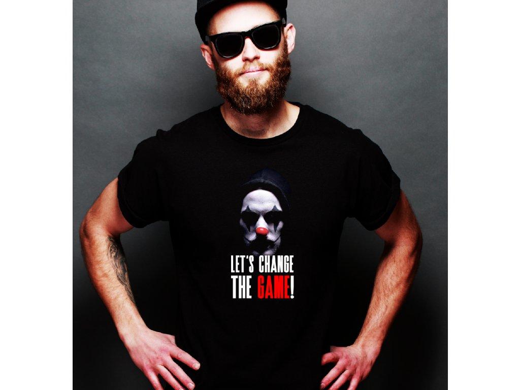 pánské tričko s potiskem GAMECHANGER 3