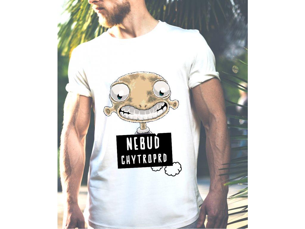 pánské tričko s potiskem CHYTROPRD