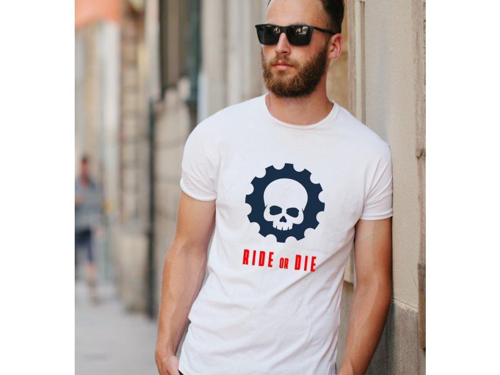 pánské tričko s potiskem ride or die body