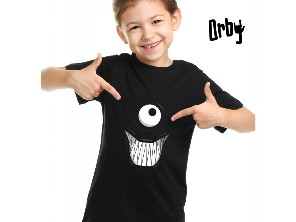 Dětské tričko s potiskem oko smile body