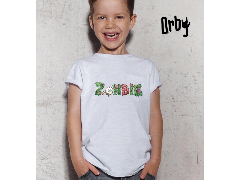 Dětské tričko s potiskem ZOMBIE BODY