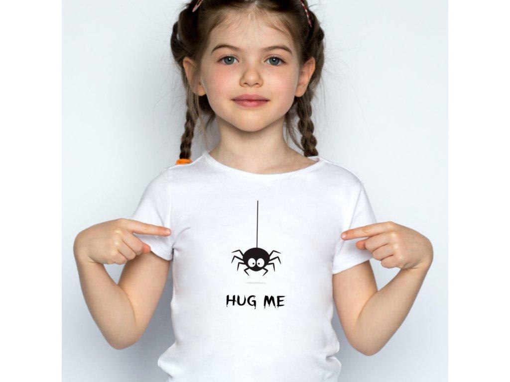 vtipné tričko pro děti HUG ME, BODY