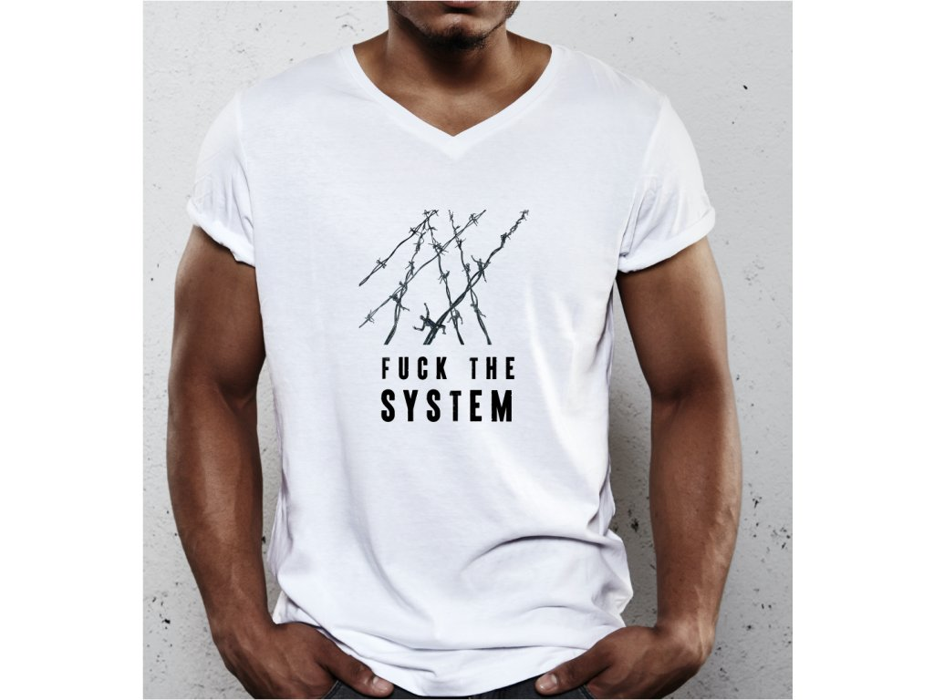 FUCK THE SYSTEM BODY MAN