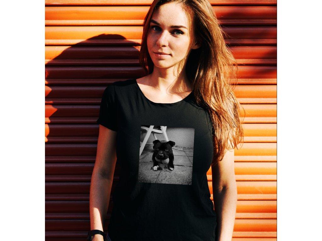 Dámské tričko HUNGRY DOG