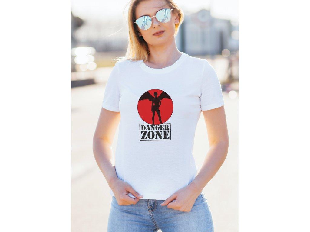 dámské tričko s potiskem DANGER ZONE LADIES, BODY