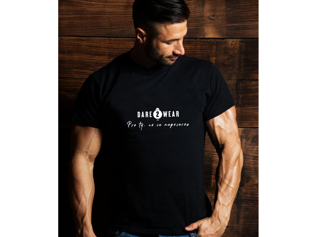 pánské tričko s potiskem d2W claim body