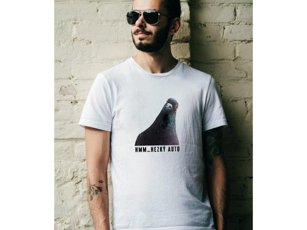 pánské tričko s krátkým rukávem HEZKÝ AUTO, BODY