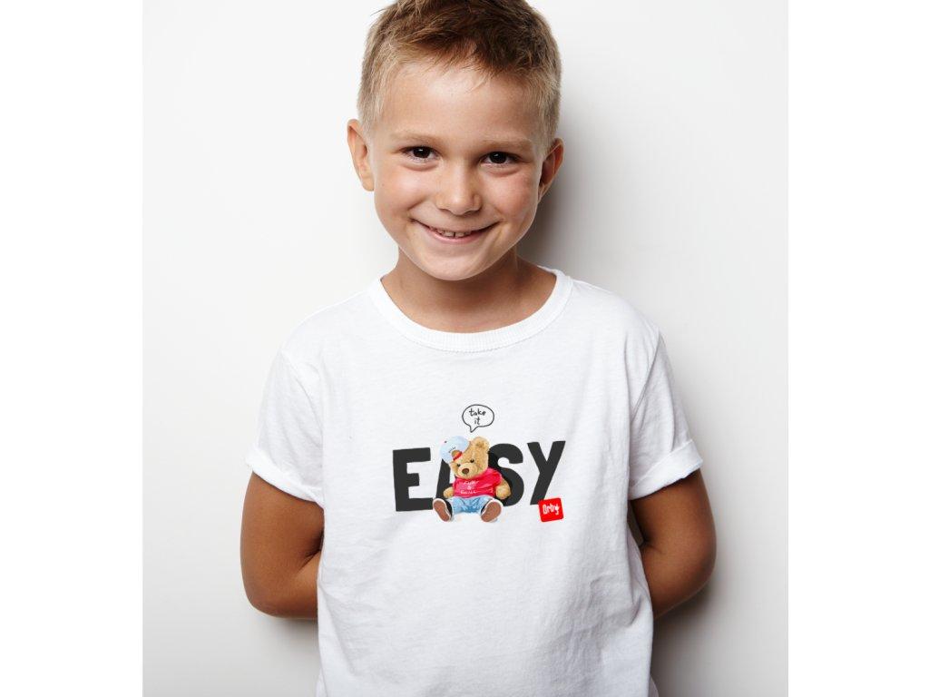 vtipné tričko pro děti s potiskem take it easy BODY