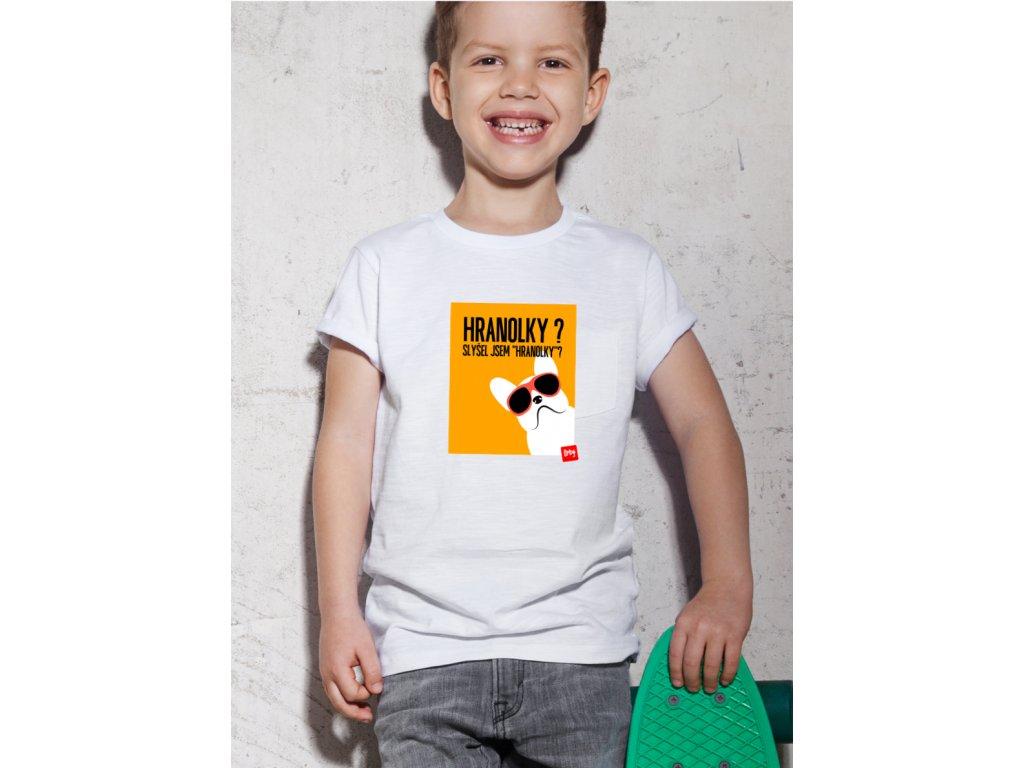 dětské tričko s potiskem HRANOLKY BODY