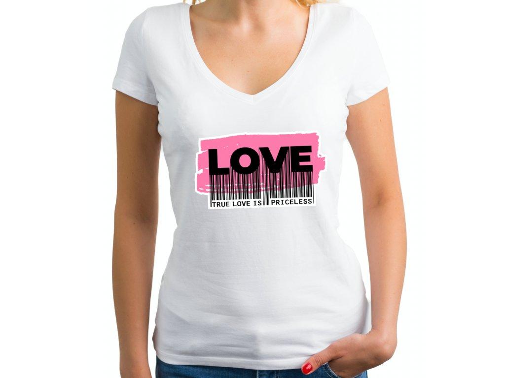 dámské tričko s potiskem KATY love, body