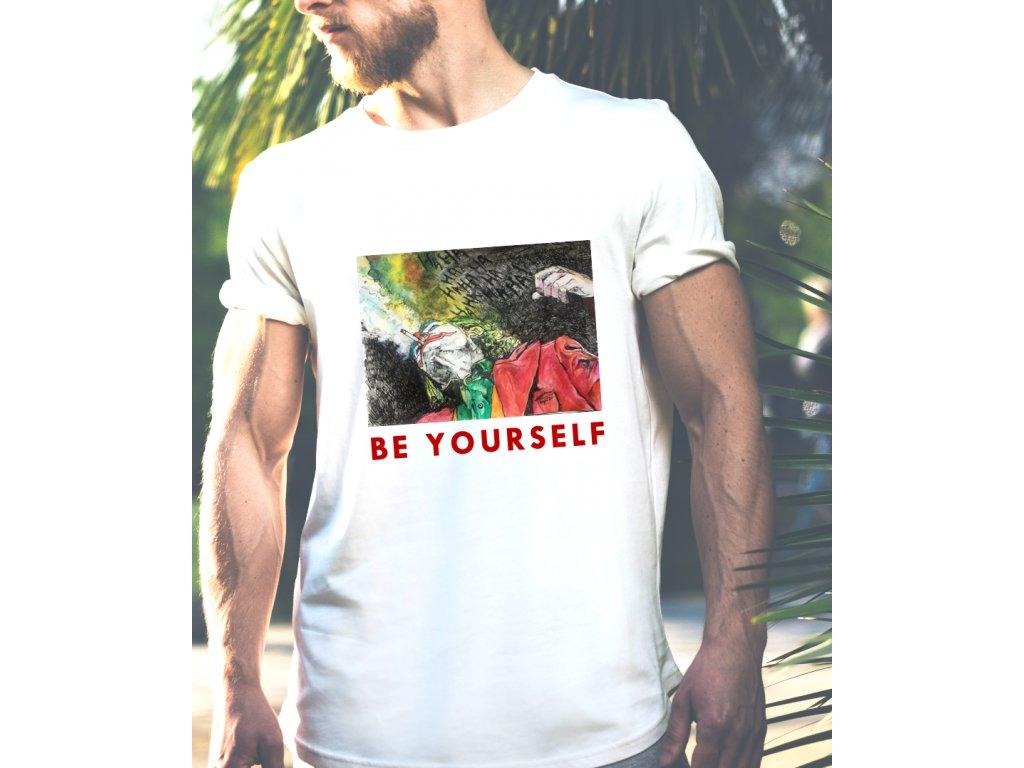 pánské tričko s potiskem CAMPULKOVA BODY