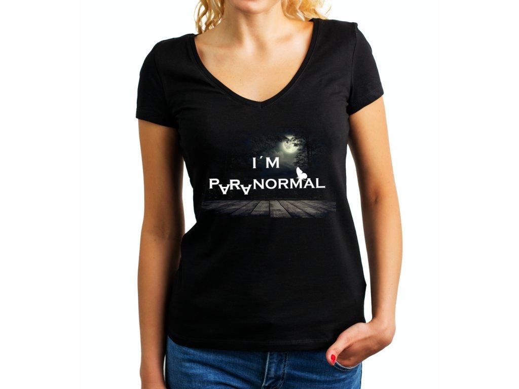 Dámské tričko cajankova paranormal body II