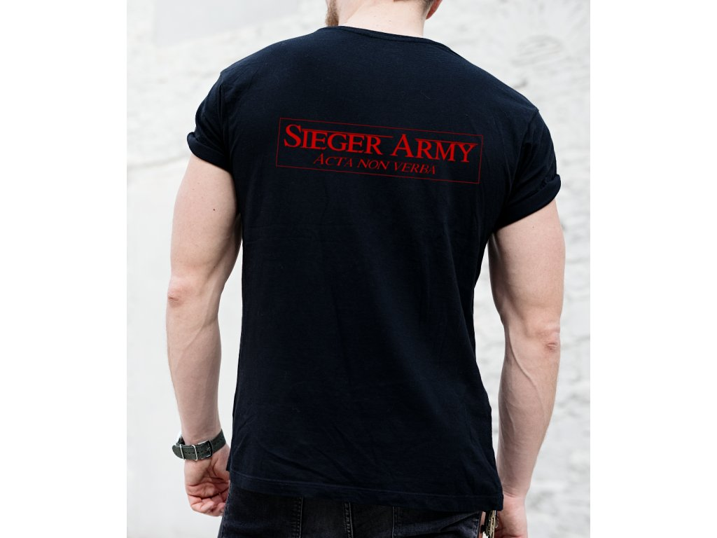 zrun roman, sieger army, back body