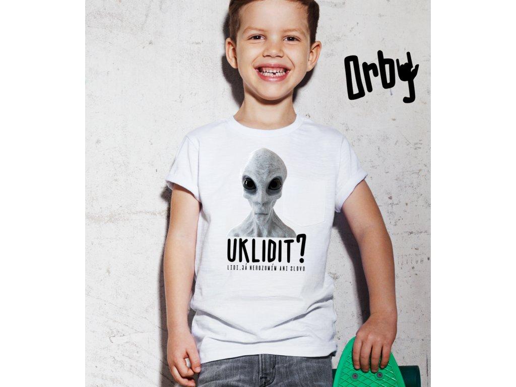 dětské tričko s potiskem ALIEN KIDS