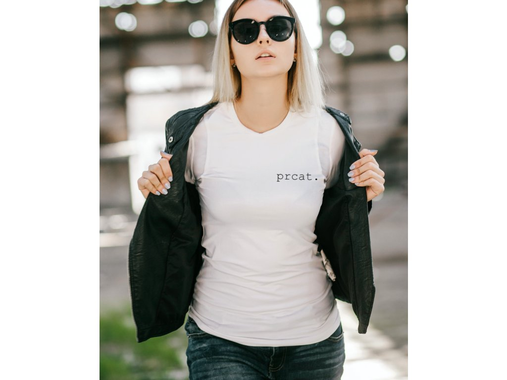 dámské tričko s potiskem ANETA, PRCAT, WOMAN
