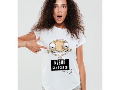 dámské tričko s potiskem CHYTROPRD