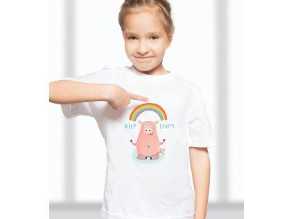 Dětské tričko s potiskemPIG