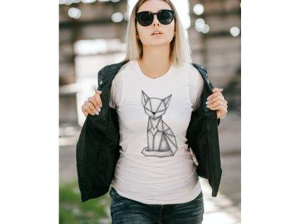Dámské tričko s kočkou NĚMCOVÁ KOČKA BODY