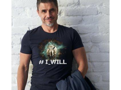 I WILL, M B,BODY pánské tričko s potiskem