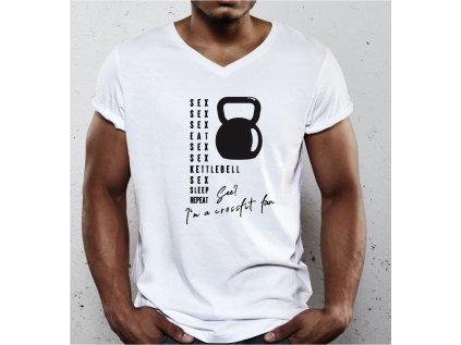 pánské tričko s krátkým rukávem crossfit fan