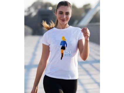 dámské tričko s potiskem running princess V2 body
