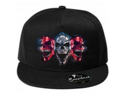 čepice three skulls