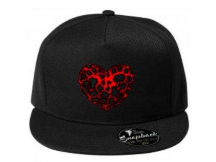 čepice heart