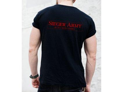 zrun roman, sieger army, back body