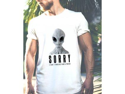 BRABUS, pánské tričko s potiskem UFO
