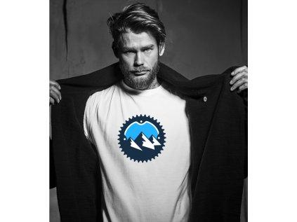 pánské tričko s krátkým rukávem MOUNTAINS triko body