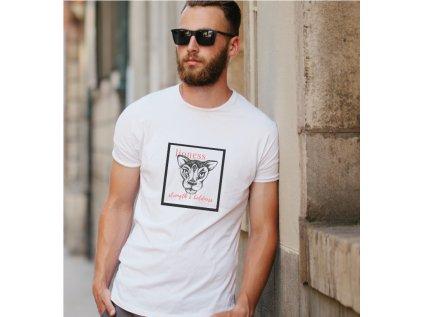 Pánské tričko dvořáková lucie, lioness, body