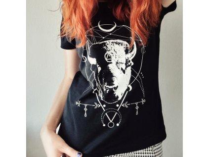 Dámské tričko MAGICAL COW HEAD