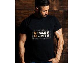 NO RULES, NO LIMITS, MAN BODY