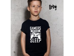 GAMERS NEVER SLEEP, BODY, BOY