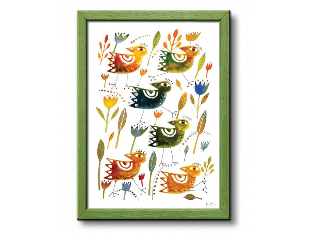 10 ptaci