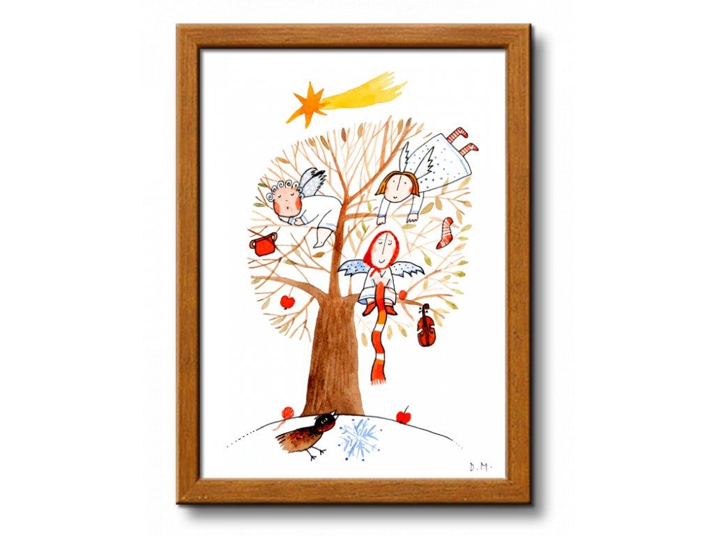 21 andele na strome